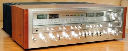 vintage receiver repair